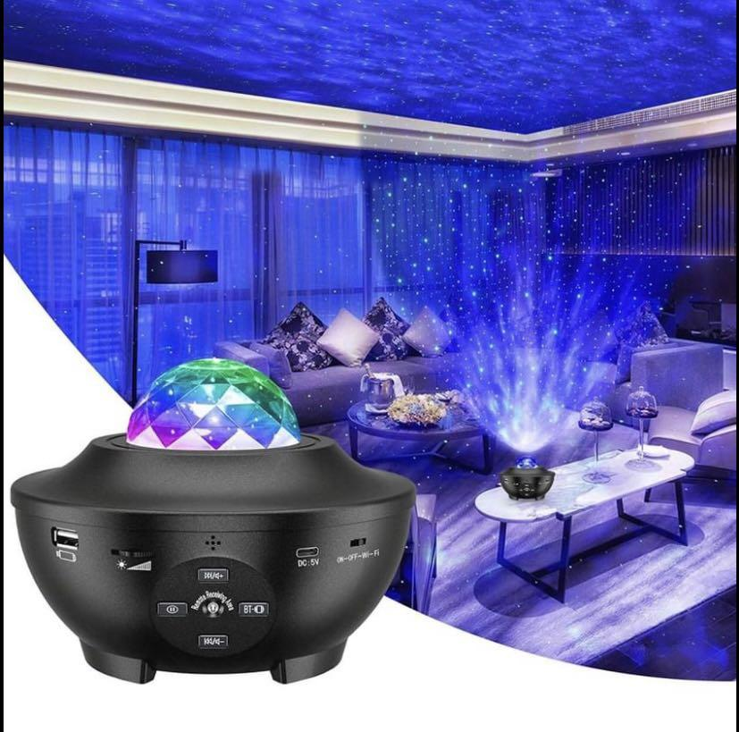 Brand new Star Projector, 3 in 1 Ocean Wave Projector