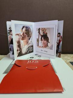 BTS DICON Jungkook Christmas Accordion Double Sided