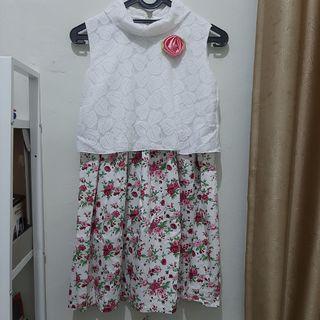Flower Dress Anak