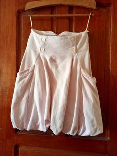 H&M High Waist Light Pink Skirt