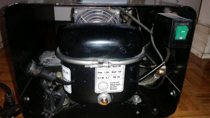 Iwata Medea Hammerhead Shark Silent Air Compressor.
