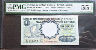 Malaya sailing boat $1