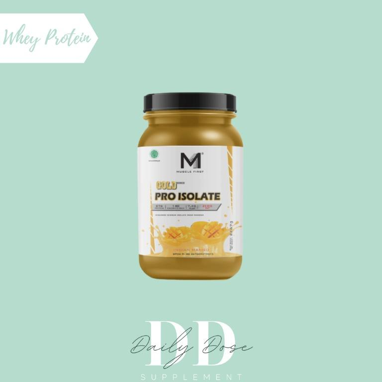 MUSCLE FIRST WHEY PROTEIN ISOLATE MURNI INDIAN MANGO