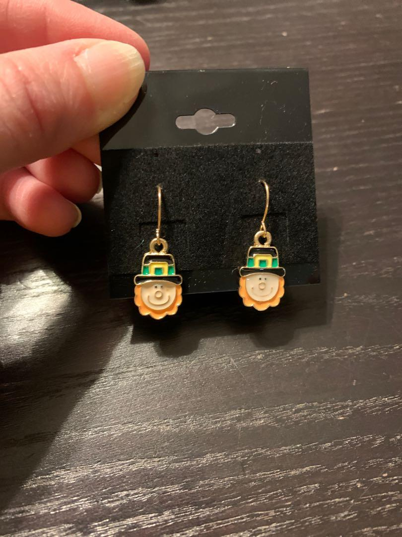 New St. Patrick's Day earrings
