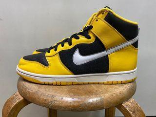 """Nike dunk high """"Maize"""" size:10.5"""