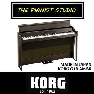 THE PIANIST STUDIO   MADE IN JAPAN KORG Digital Piano G1B Air Singapore Sale