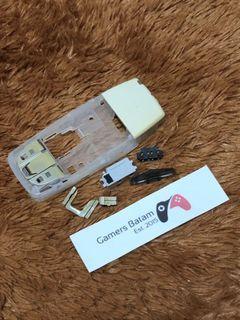 Tulang Tengah Nokia 3530 3510 Transparan Putih + Antena + Bonus Casing