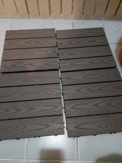 塑膠地板4片