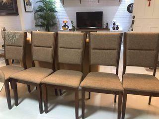 6pcs dinning chairs for sale
