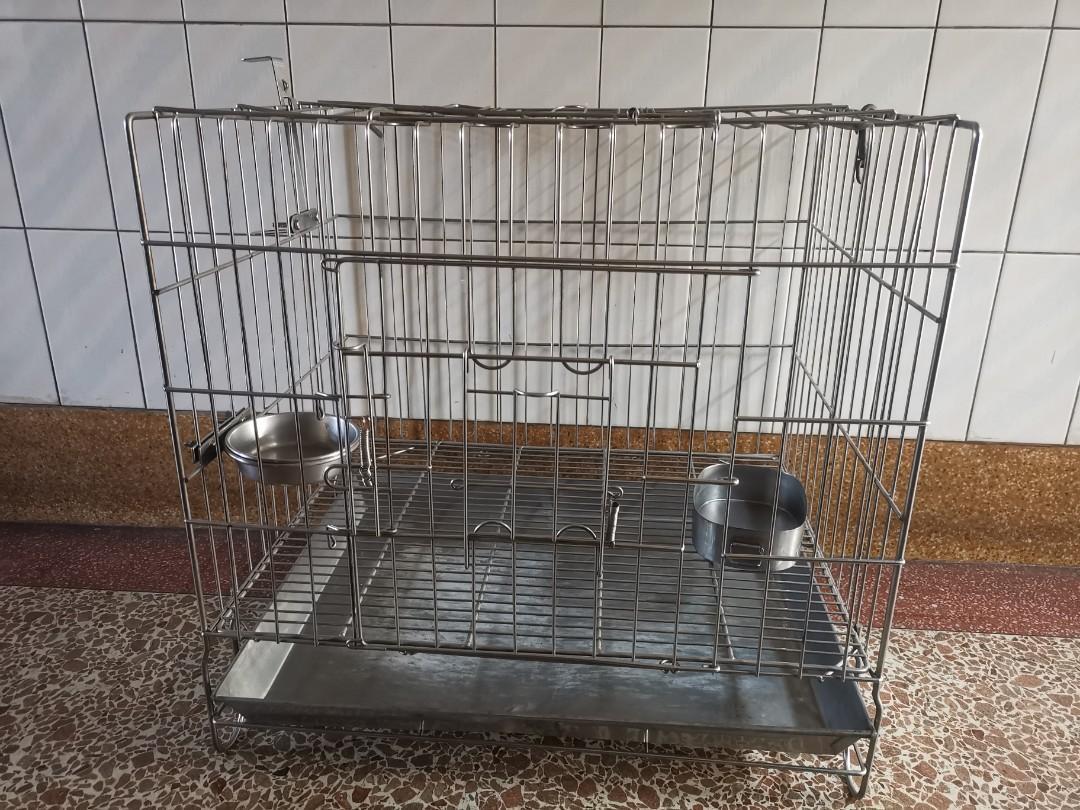白鐵籠 寵物籠 不銹鋼籠
