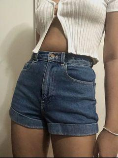 American Apparel Classic High Waisted Shorts