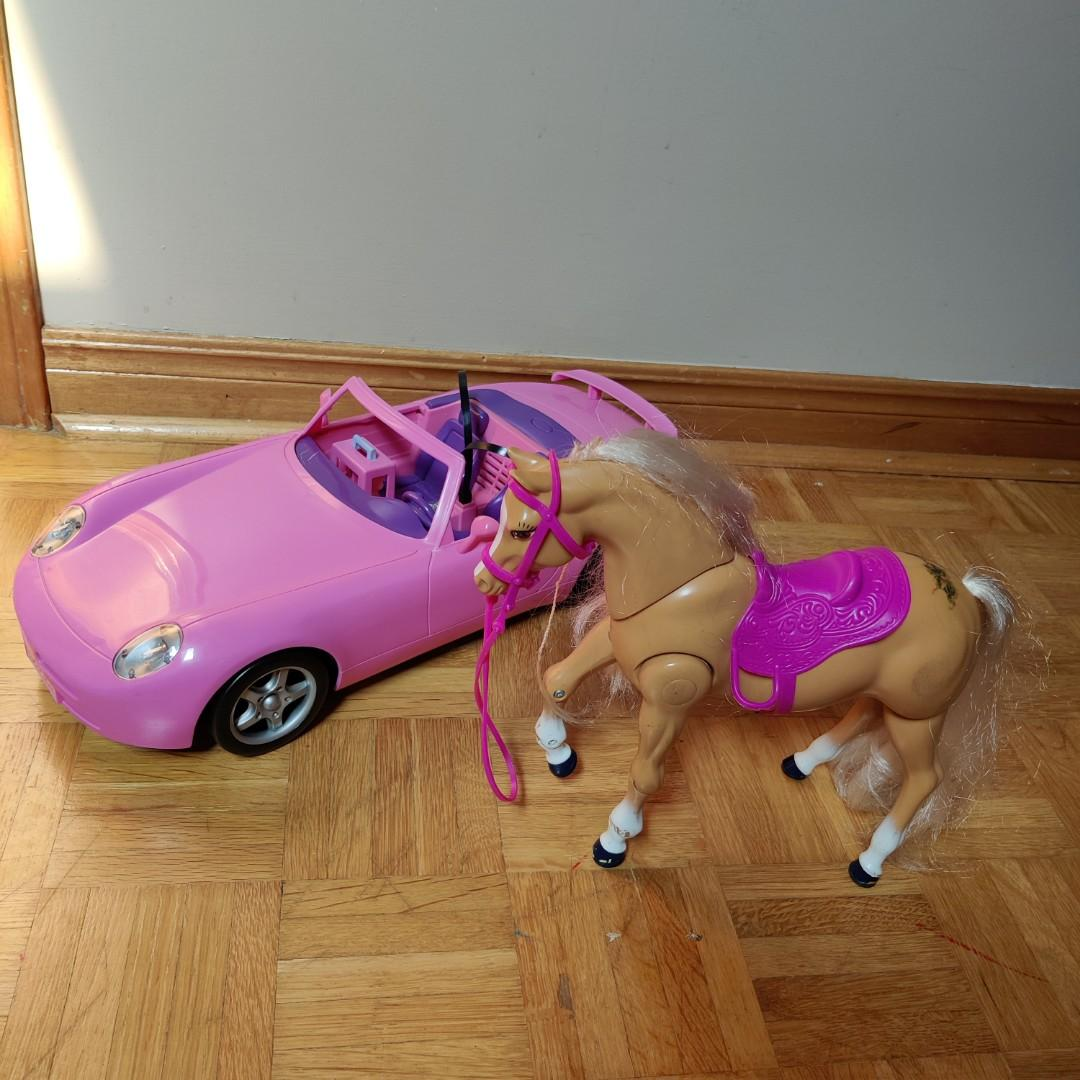 Barbie Car & Horse