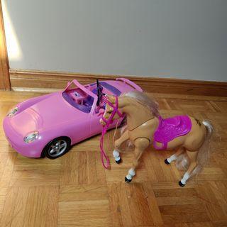 Barbie Car & Horse