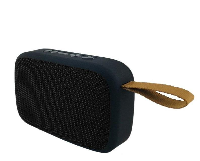 Bluetooth Wireless Fabric Speaker w/ FM Radio
