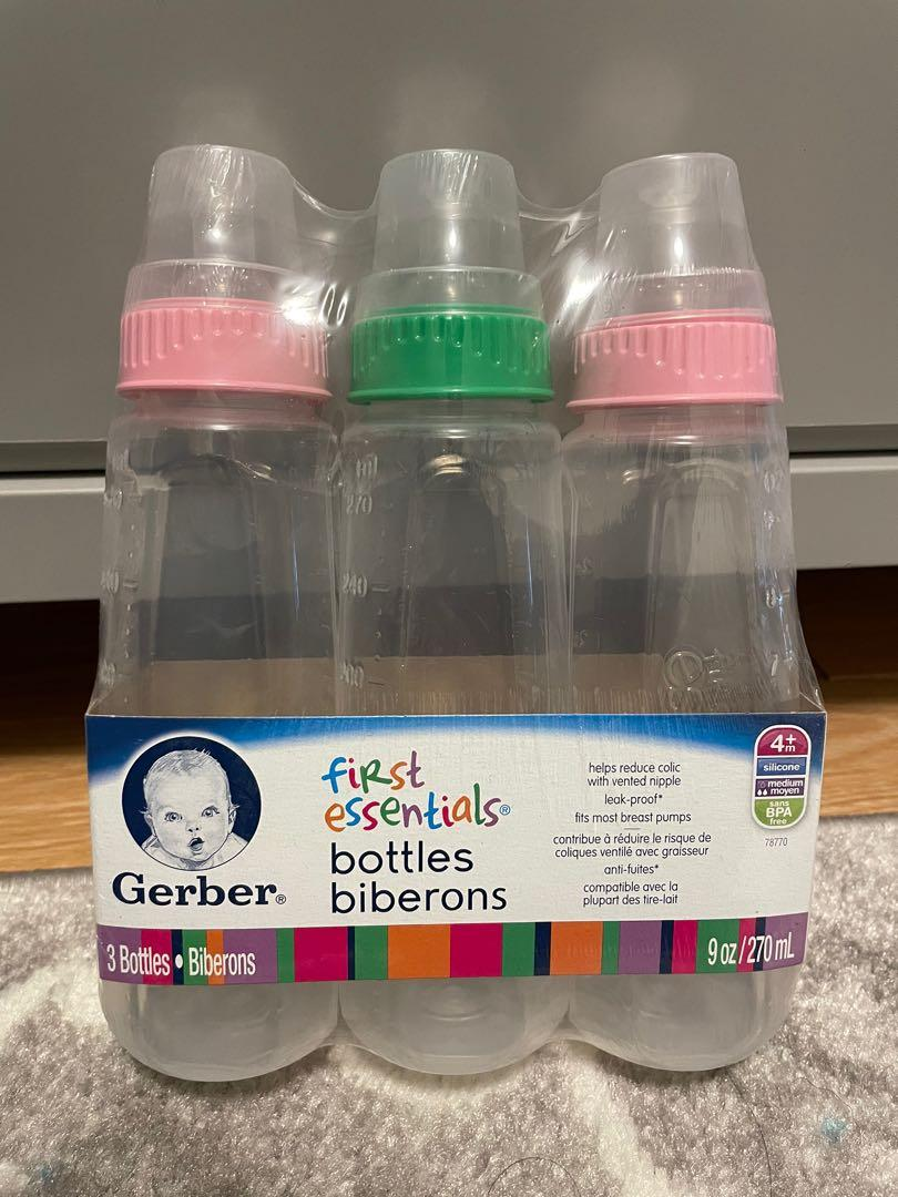 Brand new Gerber First Essentials bottles
