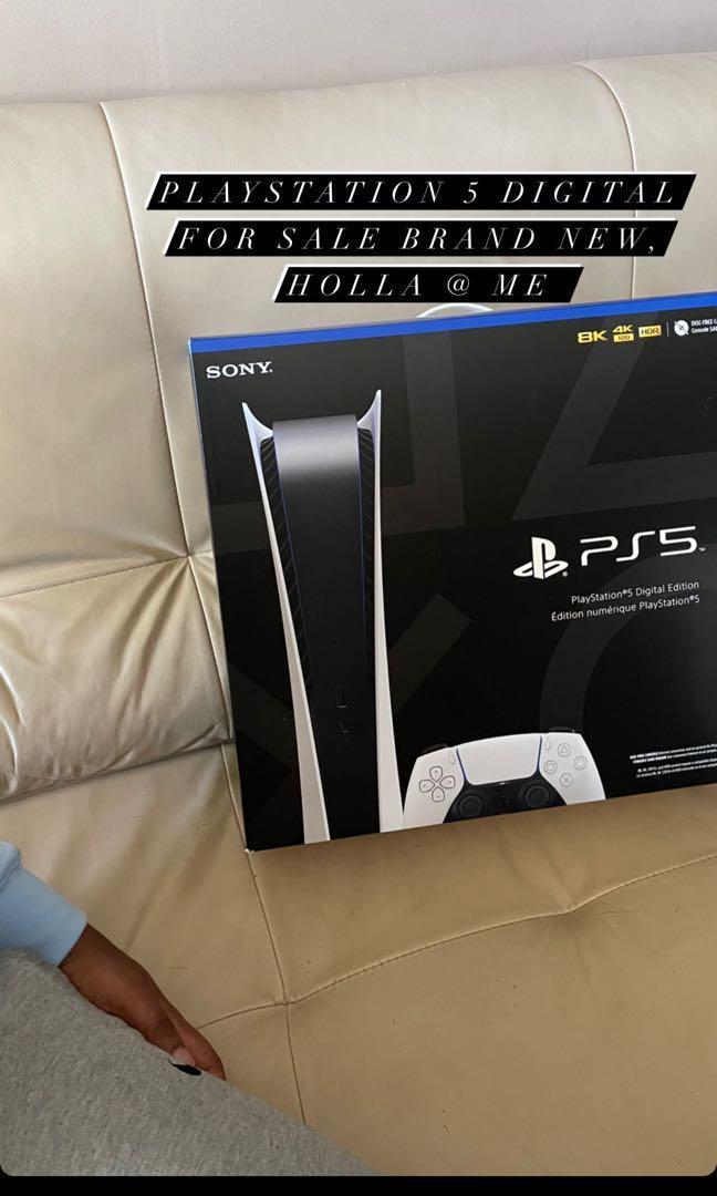 Brand new PS5 digital