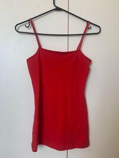 Bright Red H&M mini dress