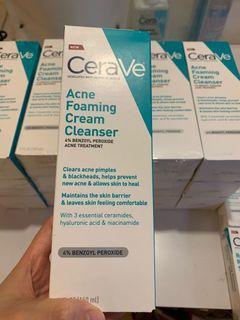 CeraVe Acne Foaming Cream Cleanser 156g