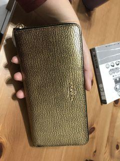 COACH 皮夾 全新 正品 材質:皮革