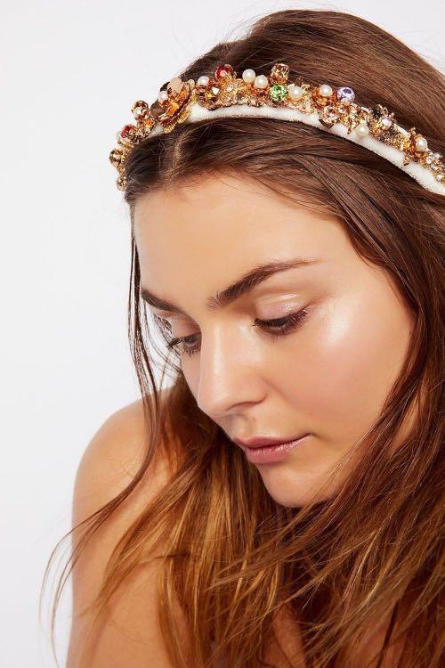 Free people jewelled headband
