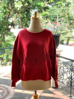 H&M Sweater Merah