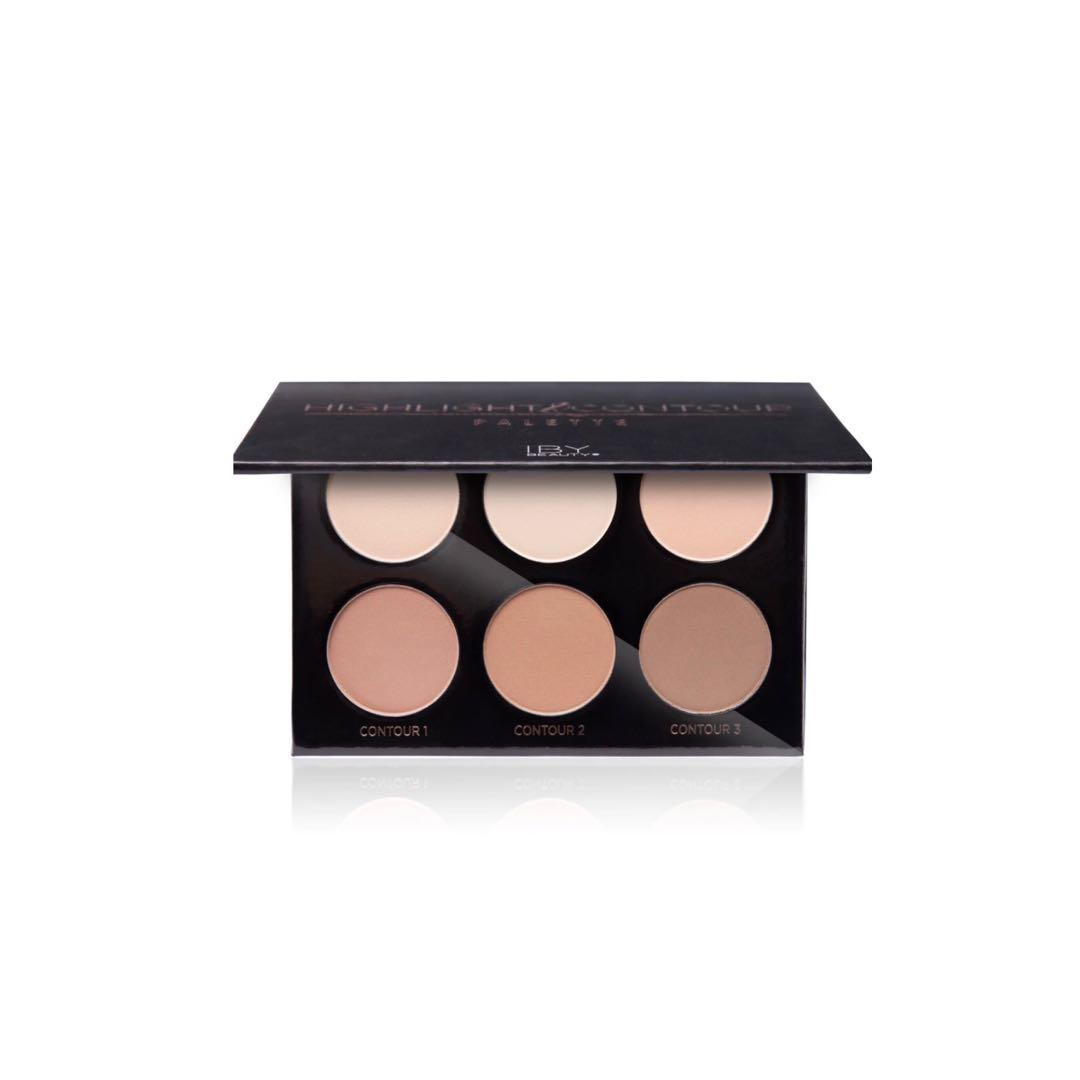 IBY Beauty Highlight & Contour Palette