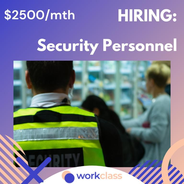 Islandwide Security Officer