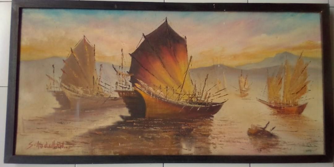 Lukisan Maestro karya Seodjono Abdullah