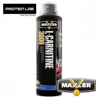 Maxler L-Carnitine 3000 500ml Bottle Blue Razz