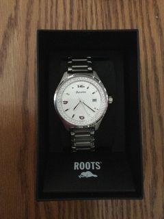 Women's Roots Superstar Watch. Chrystallized Swarovski Elements. New in box and tags attached.