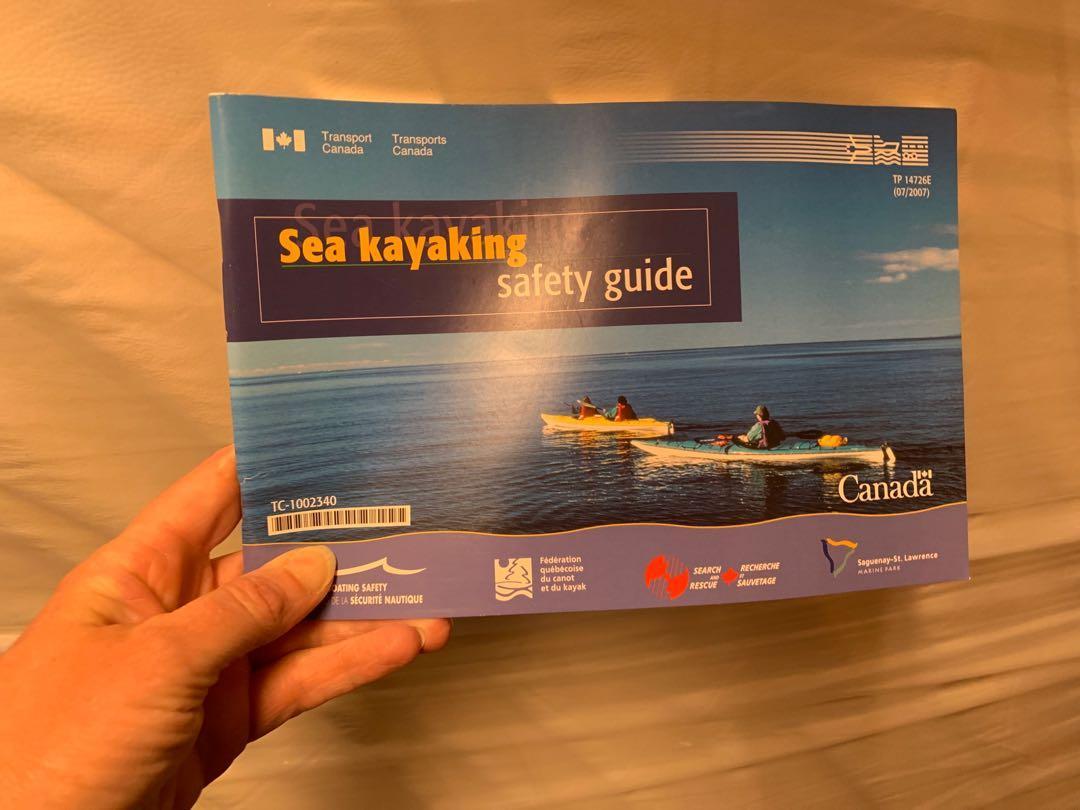 Sea kayaking safety guide