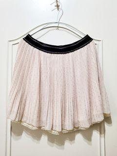 Sogo百貨T-parts 春夏短裙 紗裙 蕾絲裙 可兩面穿 一件抵2件(裙子有3層)Size:M ,28吋腰