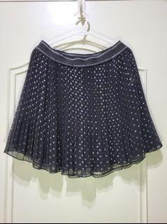 Sogo百貨T-parts 春夏短裙 紗裙 蕾絲裙 可兩面穿 一件抵2件(裙子有3層)Size:S ,26吋腰
