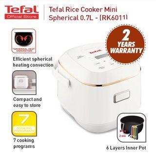 Tefal RK6011 Rice Cooker 0.7L Mini Fuzzy