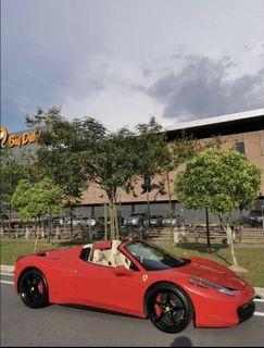 Used Ferrari 458 Spyder 2015