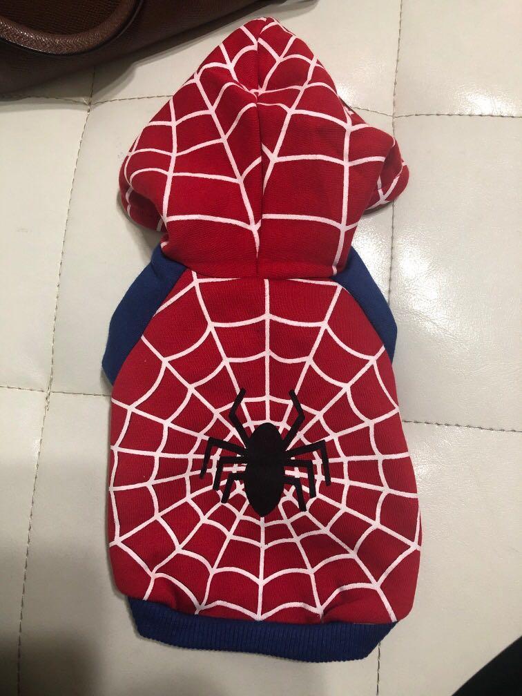 全新 吉娃娃衣服 蜘蛛人 小型犬 貓咪
