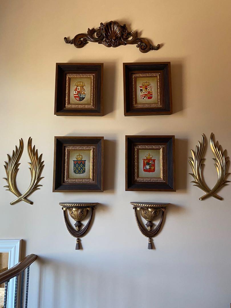 Antique Art / Picture / Frames