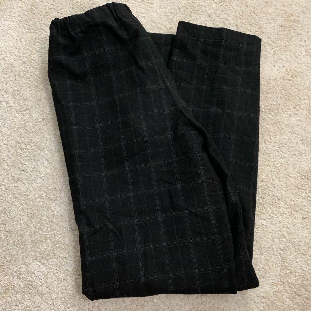 ARITZIA (Babaton) plaid pants