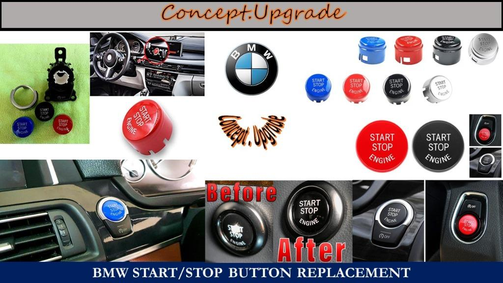 BMW START STOP BUTTON REPLACEMENT