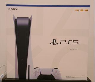 BNIB PlayStation 5 disc version sealed