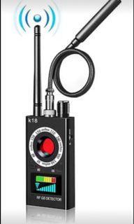 Bug Detector Anti Spy Detector Wireless Signal RF Scanner Camera GSM Listening Device GPS