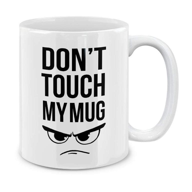 Castielewer cup Don't  touch my mug (Limited Stocks)