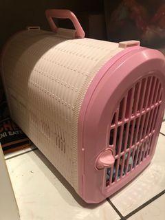 Cute Pink Pet Carrier