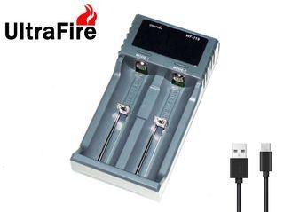 {MPower} UltraFire WF-119 USB Charger 充電器 ( 2A / AA / 3A / 26650 / 18650 / 16340 ) - 原裝行貨