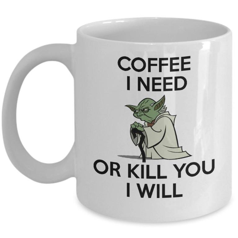 Neilewer cup -  Coffee yoda(Limited Stocks)