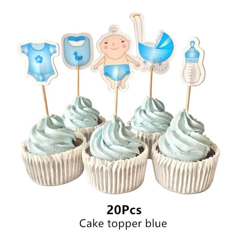 Octaviaalle cake topper blue (Limited Stocks)
