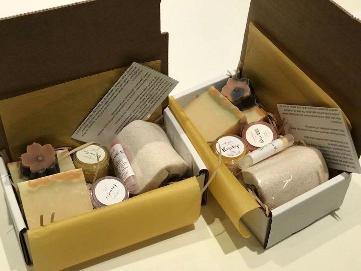 Soap & Beauty Gift Sets (Natural ingredients)