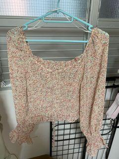 Yishion Pink Floral Top