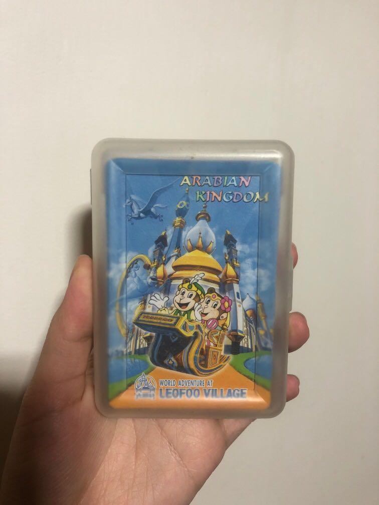 六福村撲克牌 可換物