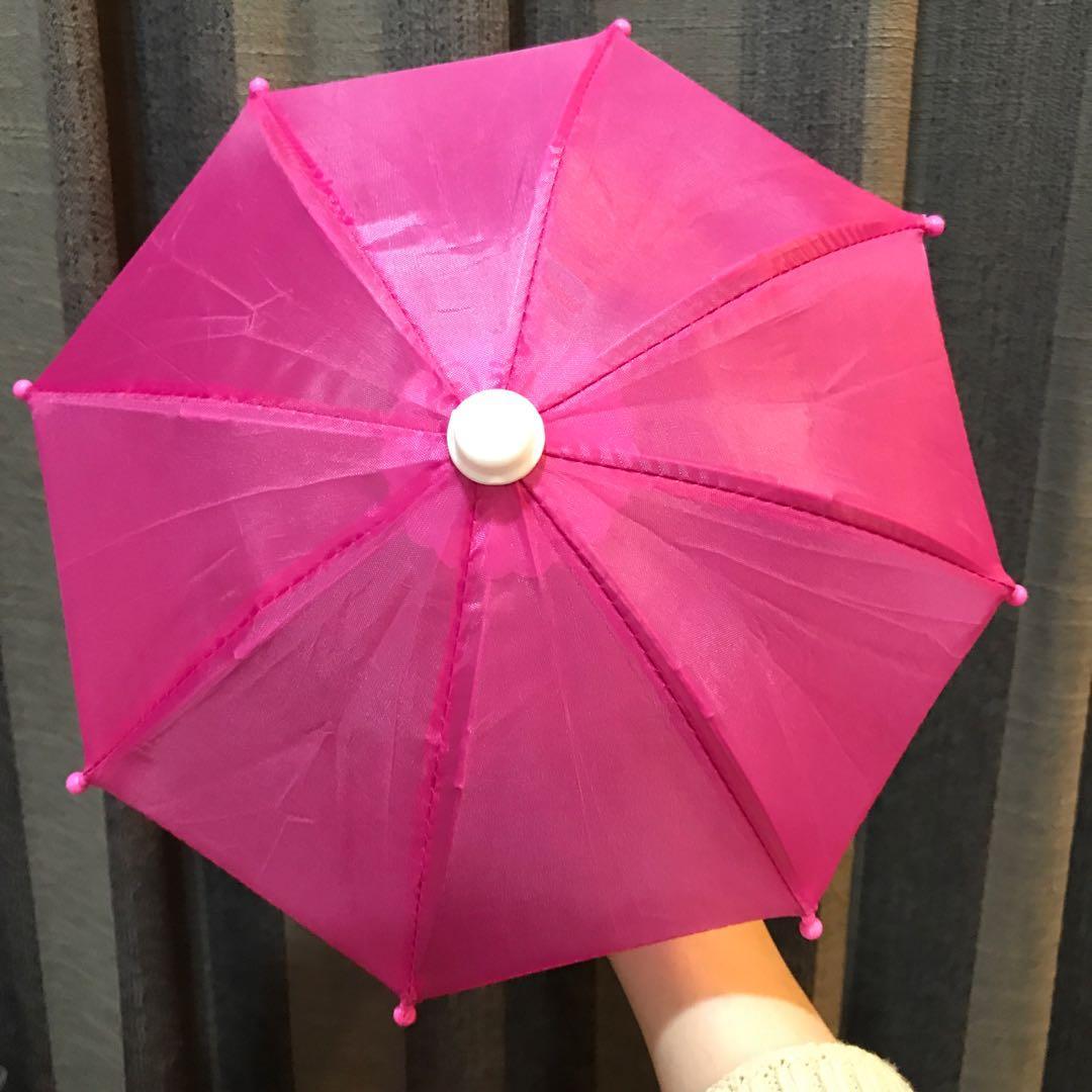 機車手機支架小雨傘娃娃機夾到